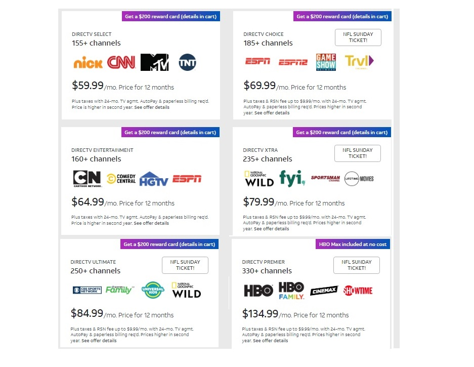 Get The Best DIRECTV Packages in LOS ANGELES Now